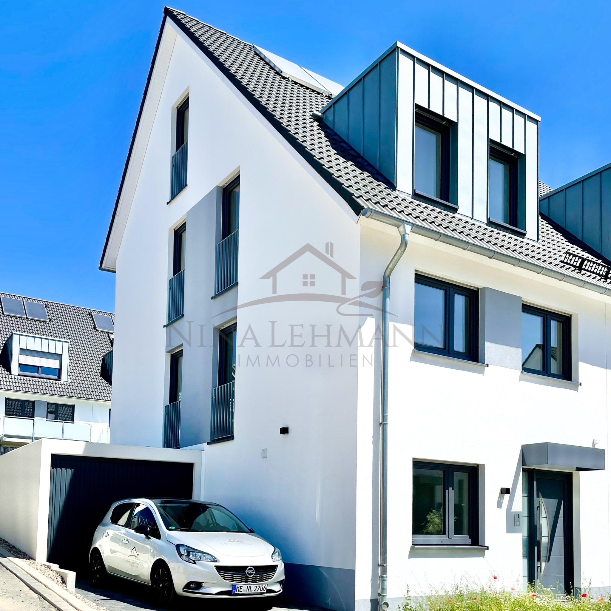 Neubau Doppelhaushälfte Velbert Obere Flandersbach